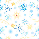 texture with snowflakes