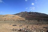 Desert landscape (Fuerteventura - Spain)