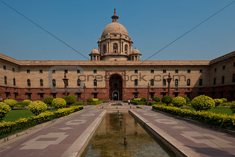 The Secretariat in New Delhi