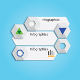Banner or chart for web design
