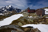 Mountain hut in Norway