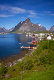 Picturesque town of Reine