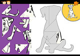 cartoon dalmatian dog puzzle game