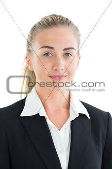 Portrait of well dressed young businesswoman