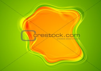 Bright smooth abstract background