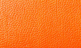 Orange Leather texture, backdrop