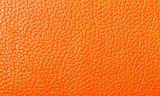 Orange Leather texture, backdrop
