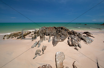 Beach of southern Thailand