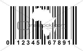 Africa Bar code