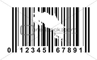 Costa Rica Bar code
