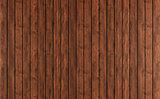 Dark wood paneling