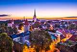 Tallinn Estonia Dawn