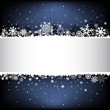 dark blue snow mesh background with textarea