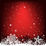 dark red snow mesh background