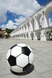 Socccer ball football Rio de Janeiro Brazil