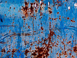 rusty blue background