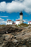 Beavertail Lighthouse in Rhode Island
