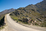 Gravel Road to the Swartberg Pass