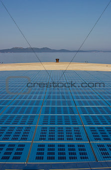 Greetings to the sun Zadar installation
