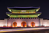 Gwanghwamun Gate in Seoul