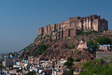 Mehrangar Fort in Jodhpur