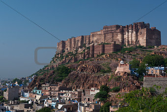 Mehrangar Fort in Jodhpur