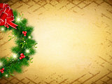 Vintage Christmas and New Background