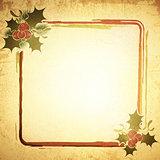 Vintage Christmas Frame