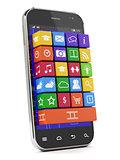 Smartphone media concept
