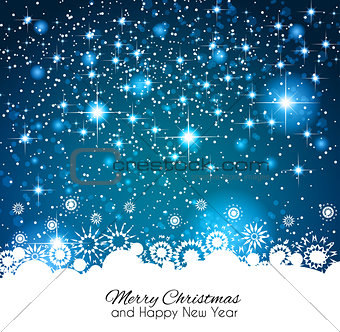 2014 Christmas Colorful Background