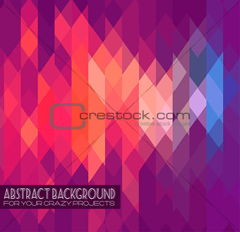 Abstract club flyer template. Abstract background