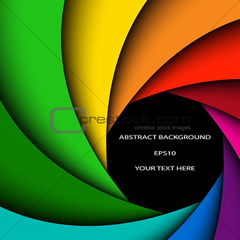 Abstract color background , colorful rainbow swirl