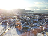 View over Trondheim city