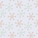 Vector abstract seamless fantastic pale colors pattern