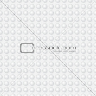 Abstract seamless vector pattern - spheres on light background