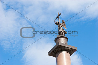 Alexander Column in St. Petersburg