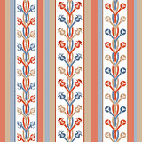pattern of stripes and ornament