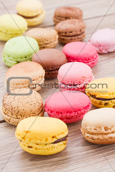 assorted macaroons c