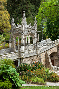 Architectural  Element / Quinta da Regaleira Palace in Sintra, L
