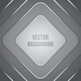 Vector Geometric Background. Business template. Paper squares