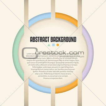 Abstract background design with shaps and colors ideal for adver