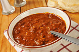 Chili with biscuits