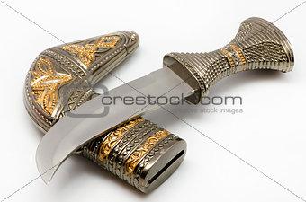knife with a sheath