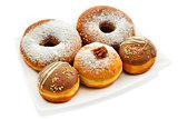 Festive donuts