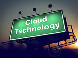 Cloud Tecnology on Billboard.