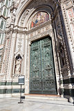 door of the Cathedral in Florence