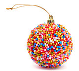 candy christmas ball