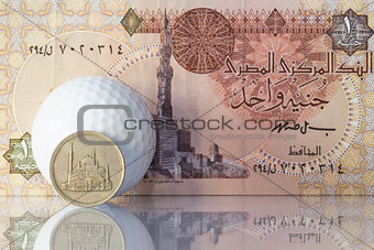 Different money from Egypt