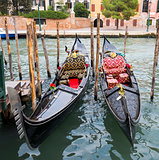 Two Beautiful Gondolas