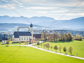Church Wilparting Bavaria
